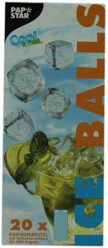 Pap Star Eiskugelbeutel 20 x 24er  – Bild 1