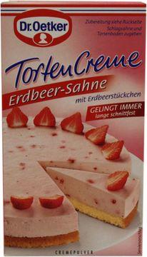 Dr. Oetker Torten Creme Erdbeer-Sahne  Cremepulver  – Bild 3