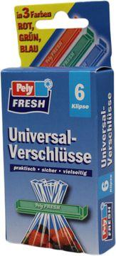 Pely Fresh Universal-Verschlüsse 6 Klipse – Bild 1