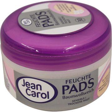 Jean Carol Feuchte Pads sensible trockene Haut 30 Pads