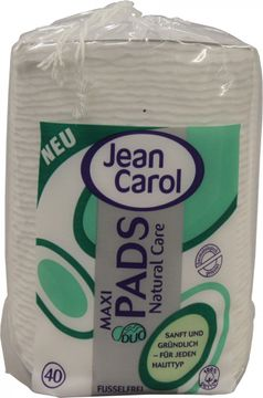 Jean Carol Maxi Pads Natural Care 40 Stück