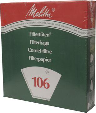 Melitta 106 Filtertüten 100 Stück
