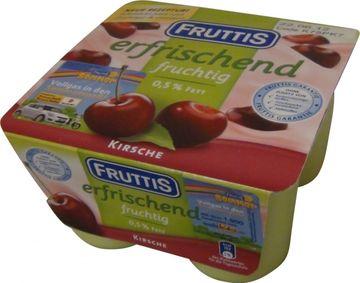 Fruttis Kirsche 4 x 125g