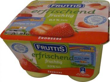 Fruttis Erdbeere 4 x 125g