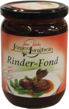 Jürgen Langbein Rinder-Fond 500ml – Bild 2