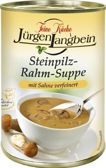 Jürgen Langbein Steinpilz-Rahm-Suppe 400ml – Bild 1