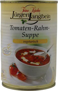 Jürgen Langbein Tomatenrahmsuppe 400ml