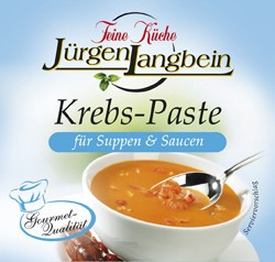 Jürgen Langbein Krebs-Suppen-Paste 50g – Bild 1
