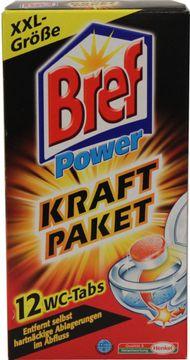 Bref Power Kraft Paket WC-Tabs 12 x 25g – Bild 3