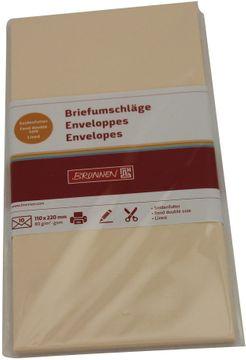 Schneider Briefumschläge DL chamois 10 Stück