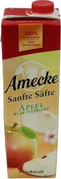 Amecke Sanfte Säfte Apfel klar filtriert 1L – Bild 1