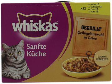 Whiskas Sanfte Küche Gegrilltes Fleisch 12 x 85g – Bild 2