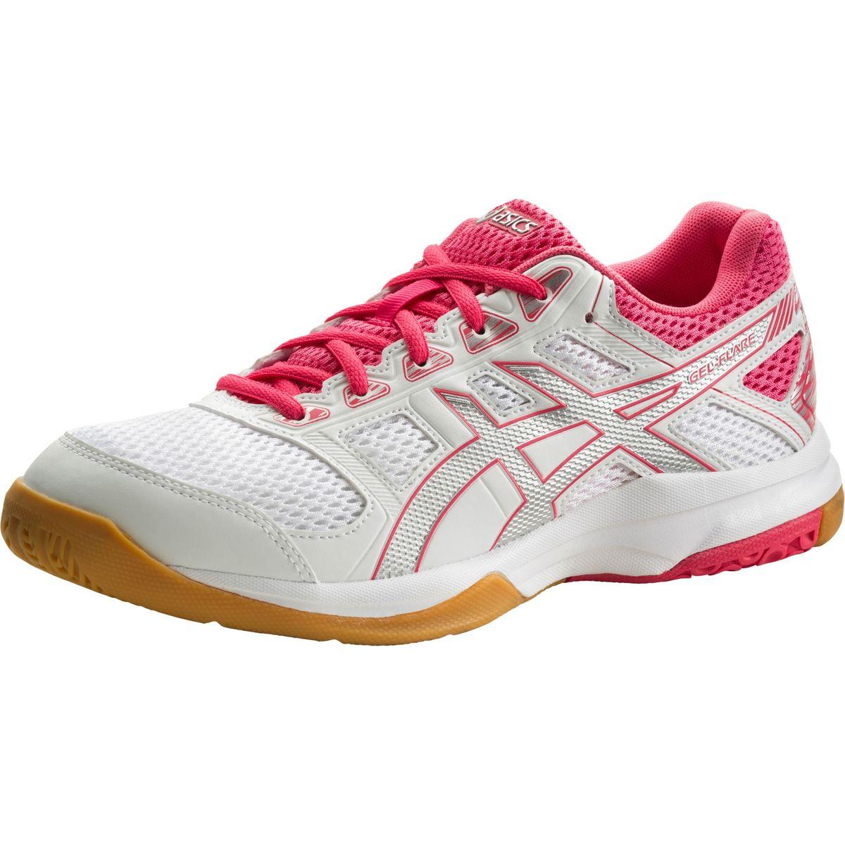 Details zu ASICS Damen Indoor Hallen Schuhe Gel-Flare 6 Multisport Hallenschuhe B75PQ Neu