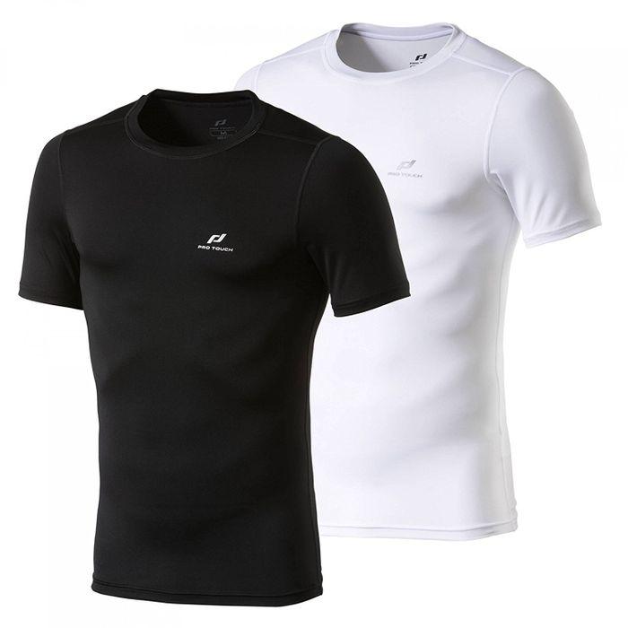 Pro Touch Herren Sport Fitness Shirt Keene Dry Plus Kompressions Tee 258677 Neu
