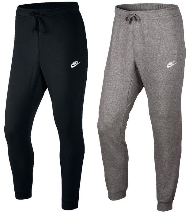 Nike Herren Fitness Sport Trainingshose NSW Jogger FT Club schwarz, Größe:XL