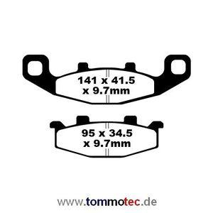 Bremsbeläge EBC FA 129 FA129 Standard Bremsklötze