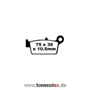 Bremsbeläge EBC FA 131 TT FA131TT Standard Bremsklötze hinten