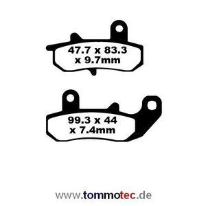 Bremsbeläge EBC FA 157 FA157 Standard Bremsklötze