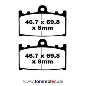 Bremsbeläge EBC FA 158 FA158 Standard Bremsklötze