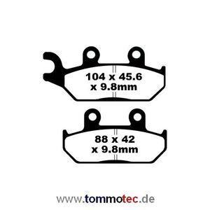 Bremsbeläge EBC FA 172 TT FA172TT Standard Bremsklötze