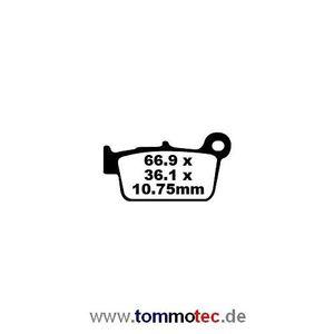 Bremsbeläge EBC FA 367 TT FA367TT Standard Bremsklötze