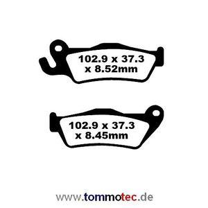 Bremsbeläge EBC BMW K 1200 GT K12S K44 2005 - 2008 Hinten FA 438 HH FA438HH Sinter Bremsklötze