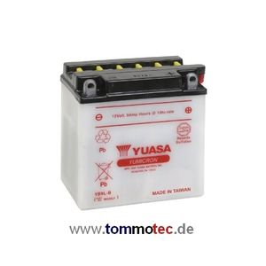 Batterie Yuasa YB9L-B High Power Japan High Quality ersetzt 12N9-3B