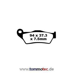 Bremsbeläge EBC FA 181 TT FA181 TT Standard Bremsklötze