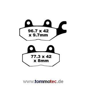 Bremsbeläge EBC FA 215/2 HH FA215/2HH Sinter Bremsklötze Triumph hinten