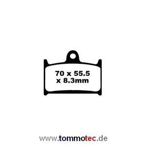 Bremsbeläge EBC FA 236 HH FA236HH Sinter Bremsklötze