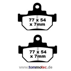 Bremsbeläge EBC FA 106 TT Standard Bremsklötze vorne