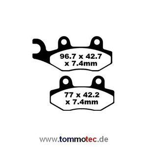 Bremsbeläge EBC FA 135 TT FA135TT FA135 TT Standard Bremsklötze