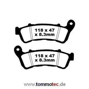 Bremsbeläge Honda FJS 600 A Silver Wing PF01 2010 - 2015 EBC vorne