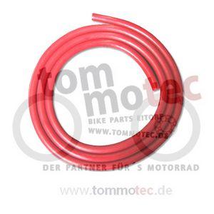 Zündkerzenkabel 1m Ø 7mm ROT Silikon Zündkabel Zündleitung