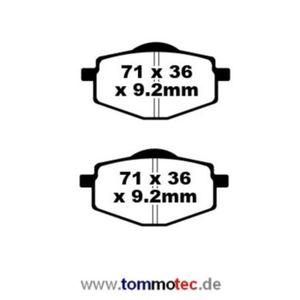 Bremsbeläge EBC SFA 101 Standard Bremsklötze Scooter