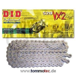 DID Kette 520 VX2 92 Glieder D.I.D X-Ring verstärkt endlos B&B