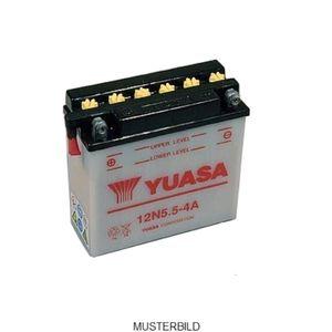 Batterie Yuasa 12N5.5-4A japanische High Quality mit Säure