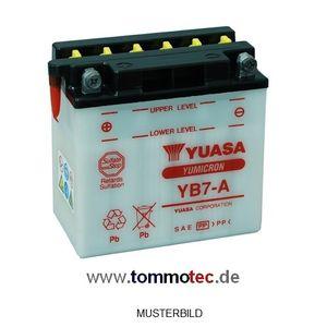 Batterie Yuasa YB7-A High Quality ersetzt 12N7-4A