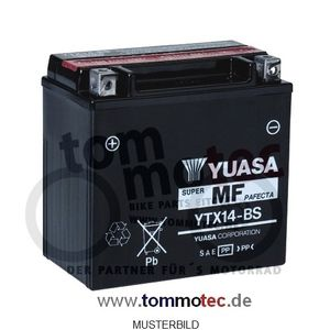 Batterie Yuasa YTX14-BS High Quality