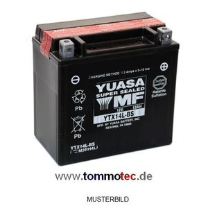 Batterie Yuasa YTX14L-BS High Quality – Bild 1