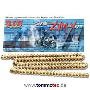 DID Kette 520 ZVMX 94 Glieder D.I.D X-Ring super verstärkt offen G&G