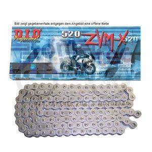 DID Kette 520 ZVM-X 116 Glieder D.I.D Kette X-Ring super verstärkt offen B&B