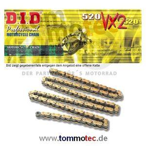 DID Kette 520 VX2 120 Glieder D.I.D X-Ring verstärkt offen G&B