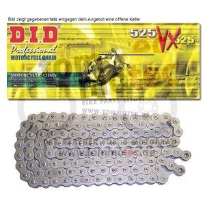 DID Kette 525 VX 106 Glieder D.I.D X-Ring verstärkt offen B&B