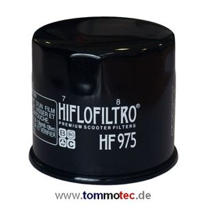 Ölfilter Hiflo Suzuki AN 650 Burgman BU 2002 - 2017