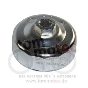 Ölfilter-Schlüssel 80mm 15Kant chrom Ratsche Schraubenschlüssel
