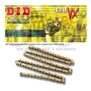DID Kette 428 VX 142 Glieder D.I.D X-Ring verstärkt offen G&B