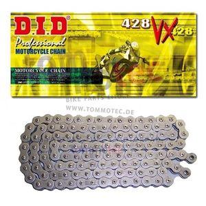 DID Kette 428 VX 132 Glieder D.I.D X-Ring verstärkt offen B&B