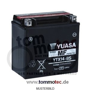 Batterie Yuasa YTX14-BS BMW R 1200 K25 K27 K28 K29 High Quality