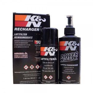 K&N Luftfilter Reiniger und Öl Pflege Set für alle K&N Sportluftfilter